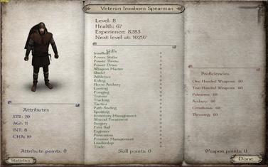 Veteran Ironborn Spearman-0