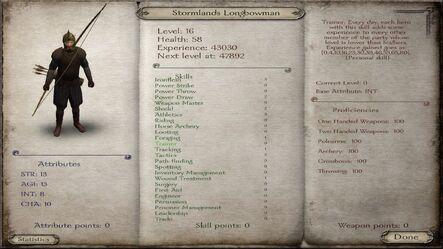 Stormlands Longbowman