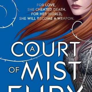 British cover for <i>A Court of Mist and Fury</i>