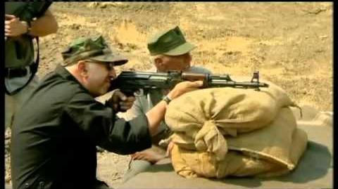 AK47 versus M16 - R