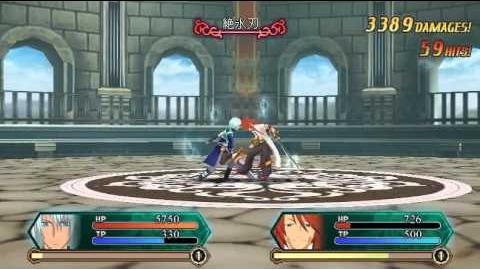 Tales of ACS3D v0.801 Veigue Lungberg Infinite Combo (96 Hits)