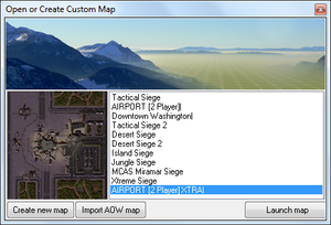 AoW MapEditor Open Interface