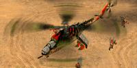 Hind FFAR Hydra rockets
