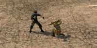 Non-lethal fighting training