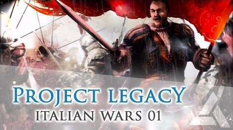 Project Legacy Recreation Italian Wars 01 – Bartolomeo d'Alviano