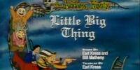 Little Big Thing - Little Bad Riding Hood - Metamorphosister