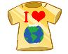 I Love Earth Badge