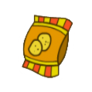 Chips Badge