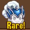 Sapphire knight helmet