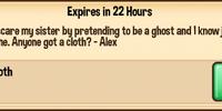 Touching Cloth