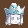 White queen crown
