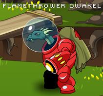 Flamethrower Dwakel