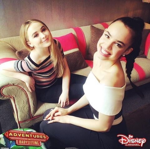 File:Sabrina and Sofia Carson.jpg