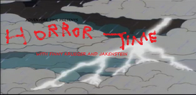 Horror Time Title Card