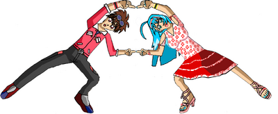 Dan and runo do the fusion dance version 1 by gabeddrwatcher-d623bop