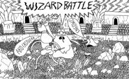Wizard Battle Promo Art
