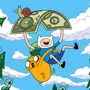 File:Finn and Jake with a Dollar.jpg