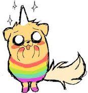 Cute Rainicorn-Dog