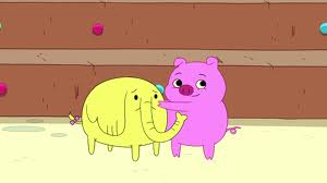 S4e4 treetrunks with pig