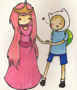 Princess bubblegum and Finn