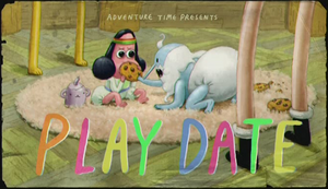 Play Date Title Card