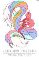 Lady & Peebles Promo Art