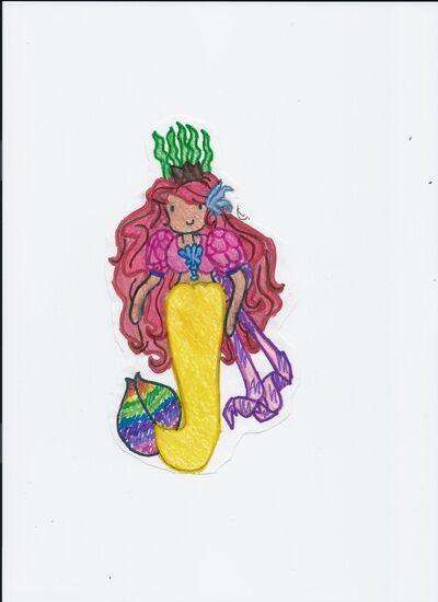 Calpurnia, Meriad queen of the Ocean Kingdom