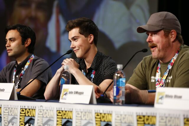 File:Adventure Time Panel at SDCC14 16.JPG