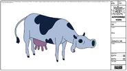 Modelsheet Cow
