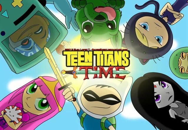File:Teen Titans Time.jpg