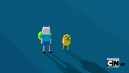 S4e7 finn and jake standing on grass