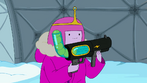S4 E19 Princess Bubblegum holding ball blaster