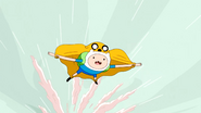 S4 E21 Finn flying with Jake