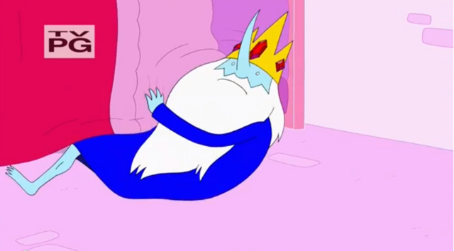 File:S5 e22 Ice King emerging from under PB's bed.PNG