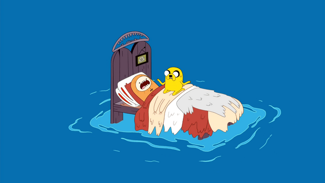 File:S1e16 Finn and Jake on bed in ocean.png