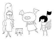 Nightmare Princess concept art(2)