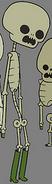 Lollipop Girls skeleton