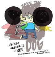 Jake the Dog promo art