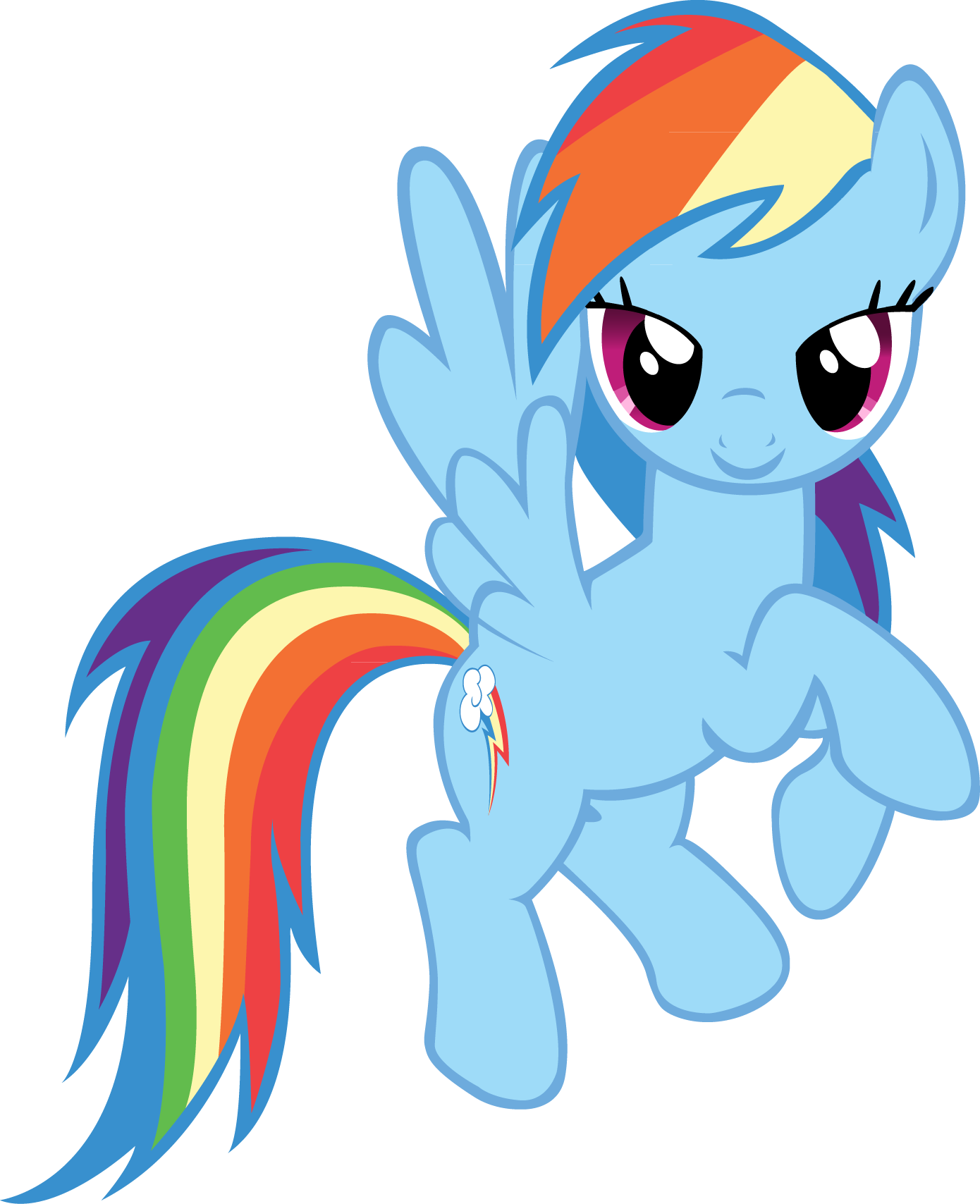 Image  My little pony rainbow dash desktop 1390x1708 wallpaper