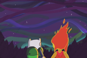 File:Finn and flame princess by deathbeconsmyname-d5qn230.png