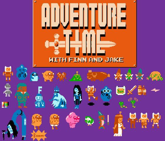 File:Retro adventure time.jpg