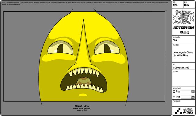 File:Modelsheet Lemongrab Close up with Rims.png