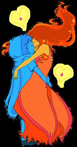 File:Finn x flame princess by xmembrillita-d59uz08.png