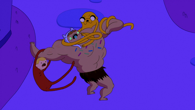 File:S5e10 Finn and Jake attack Candy Person.png