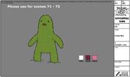 Cactus Man modelsheet