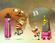 The marvelous misadventure times of finn and jack