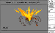 Modelsheet flameking vanishingefx