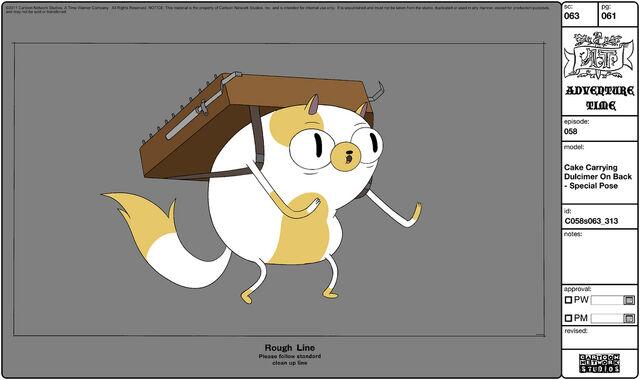 File:Modelsheet cake carryingdulcimer onback - specialpose.jpg