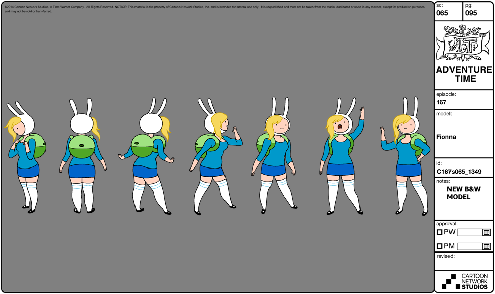 Character Design Adventure Time : Image modelsheet fionna adventure time wiki