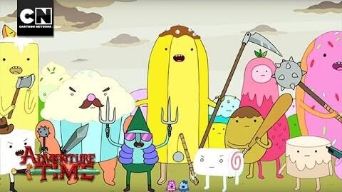 Fighting the Dark Cloud I Adventure Time I Cartoon Network